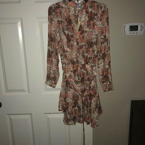 Women's fall dress with belt small